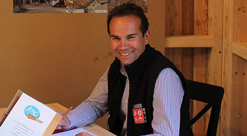Franck Faure-Brac - Secrétaire -  Charpentier - ALPES MEDITERANNEE CHARPENTE