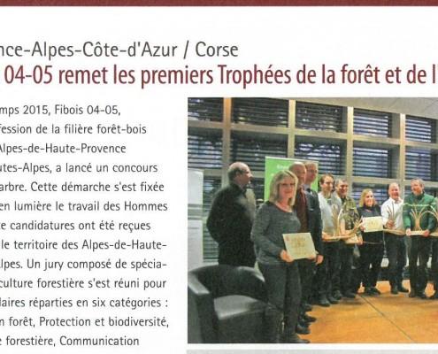 LBI. 6 fevrier 2016. Trophées de la forêt.bandeaujpg